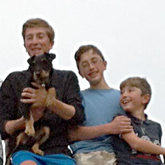 Louis, Arthur et Octave